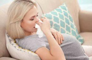 Простуда 32 неделе беременности лечить