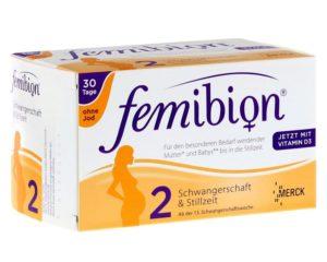 Фемибион 1 чем отличается от фемибиона 2