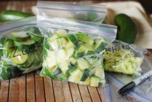 Как заморозить кабачок на зиму для прикорма ребенка