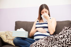 Заложенность носа при беременности на поздних сроках беременности