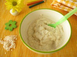 Как приготовить кашу рисовую для первого прикорма