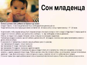 Сколько Спит Новорожденный В Первые Дни Жизни