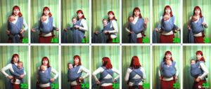 Как Наматывать Слинг Шарф Для Новорожденных Видео