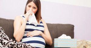 Заложен нос 40 недель беременности