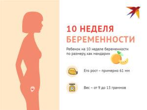 Беременность 9 10 недель ощущения женщины