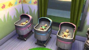 Как родить двойню в симс 3 мальчика и девочку
