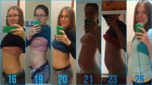 26 Неделя беременности фото животиков девочек