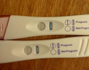 Пойдут ли месячные если забеременела за неделю до месячных
