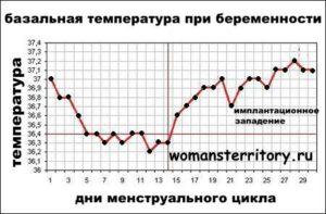 Какая температура во влагалище при беременности?