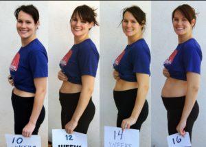 Какой живот на 11 неделе беременности