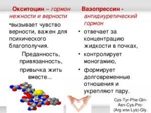 Как выработать окситоцин в организме у женщин