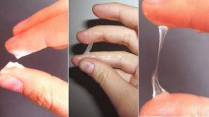 До или после овуляции выделения как яичный белок