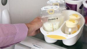 Как кормить грудным молоком замороженным