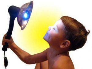 Можно ли греть нос синей лампой при беременности