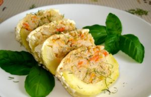 Кабачки в духовке для кормящих мам рецепт