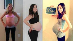 Тянет низ живота и поясницу на 38 неделе беременности