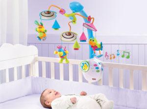 Нужен Ли Мобиль На Кроватку Для Новорожденного