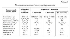 Низкий Гемоглобин В Третьем Триместре Беременности