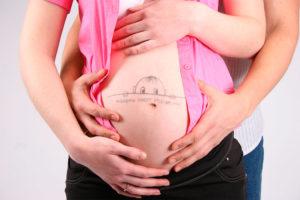 Шевеления внизу живота при беременности