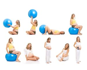 Фитбол Упражнения Для Беременных 2 Триместр