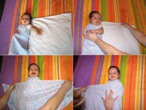 Как Пеленать Новорожденного Пошаговое Фото С Ручками