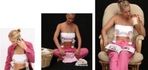 Как правильно перетянуть грудное молоко фото перевязки