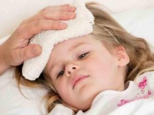 У Ребенка Лоб Холодный А Температура 38