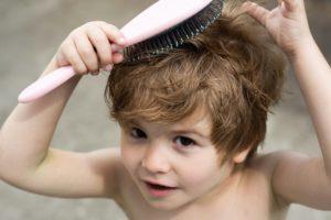 Ребенку 4 месяца выпадают волосы
