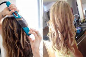Как правильно пользоваться утюжком для волос — выпрямляем и делаем локоны легко