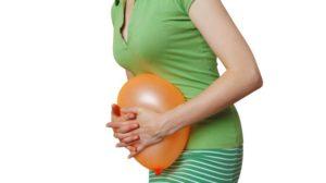 Газы у беременных что делать