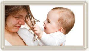 Можно ли красить брови во время грудного вскармливания