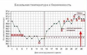 Беременность 4 недели температура 37 2