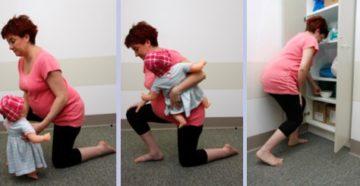 Тяжести при беременности можно ли поднимать старшего ребенка