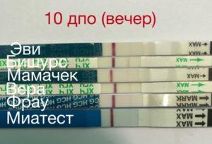 Может ли на 10 день после овуляции показать тест на