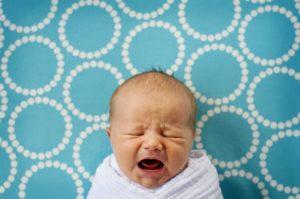 Звуки малыша когда он плачет