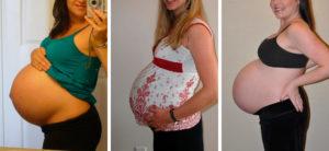 40 Неделя беременности размер живота