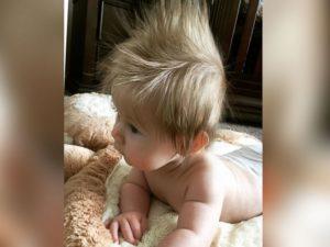Когда у детей темнеют волосы