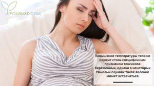 Бывает Ли Температура При Токсикозе Беременных