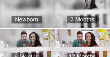Как Видят Новорожденные Дети В 1 Месяц