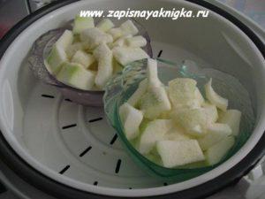 Как приготовить кабачок на пару в мультиварке для первого прикорма