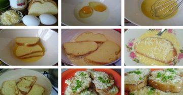Как Приготовить Батон В Яйце С Молоком
