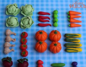 Лепка Овощей И Фруктов Из Пластилина Поэтапно