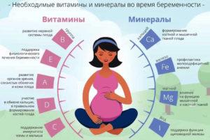 Какие Витамины Принимать В Начале Беременности