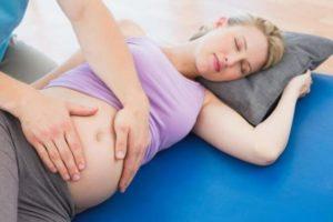 На 32 неделе беременности болит низ живота