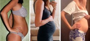 В 18 недель беременности обмякла грудь
