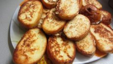 Рецепт Жареного Хлеба С Яйцом И Молоком