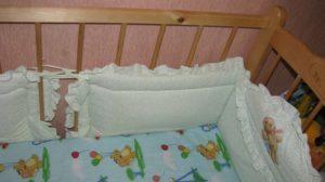 Как Правильно Завязывать Бортики На Детскую Кроватку