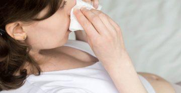 Простуда без температуры при беременности 2 триместр лечение